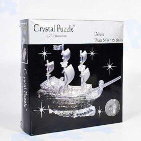 3D Пазл головоломка Crystal Puzzle Пиратский корабль