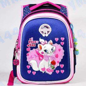 рюкзак для девочки с кошкой