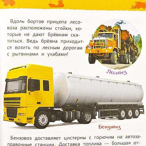 Энциклопедия для детского сада Большие машины