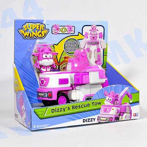 Трансформер Super Wings Dizzy