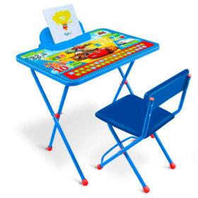 Nika Комплект Д1П/Т Disney-1П Тачки (стол+стул)