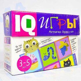Обучающий набор IQ Игры. Математика. Формы и счет. 3- 5 лет