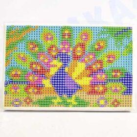 Алмазная мозаика Павлин 10 х 15