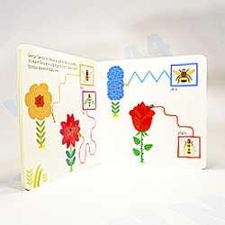 """Моя первая книжка """"В саду"""" Метод Монтессори"""