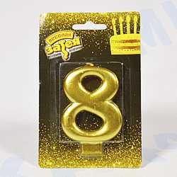 свеча-цифра 8