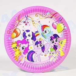 набор тарелок для праздника