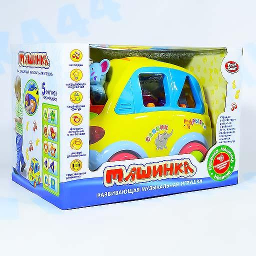 """Развивающая музыкальная игрушка """"Машинка"""" арт.9198"""
