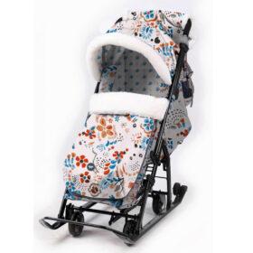 Санки-коляска НД5 Nika Ника детям 7-5