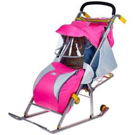 Санки-коляска НД4 Ника детям 4 Nika