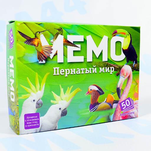 """Мемо """"Пернатый мир"""" Нескучные игры"""