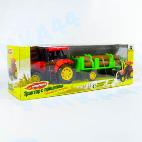 Трактор с прицепом: Большой лесовоз. Handers 33 см