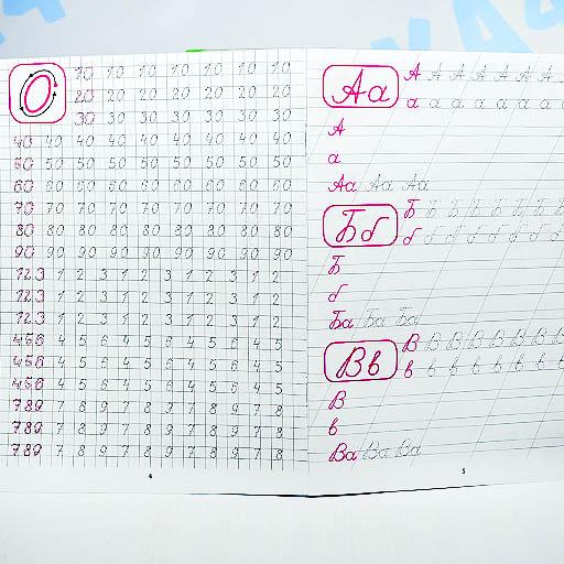 Пропись Каллиграфическое написание цифр, букв, слогов