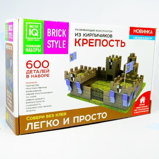 Крепость 600 деталей