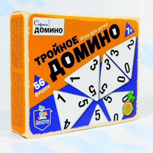 Настольная игра Тройное домино