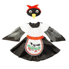 Карнавальный костюм Сорока Глаша Батик 122см