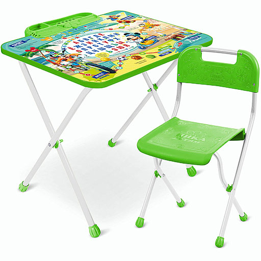 Nika Комплект Д1М Микки Маус и и друзья (стол+стул)