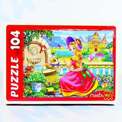 """Пазл """"Сказочная принцесса"""" 104 эл., Рыжий кот"""