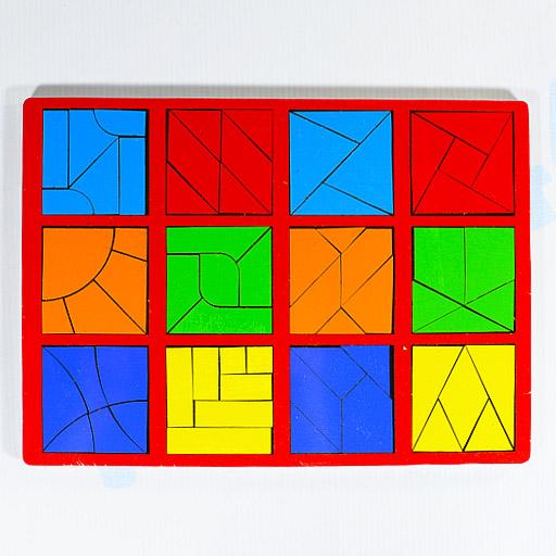 Игры Никитина Сложи квадрат Стандарт