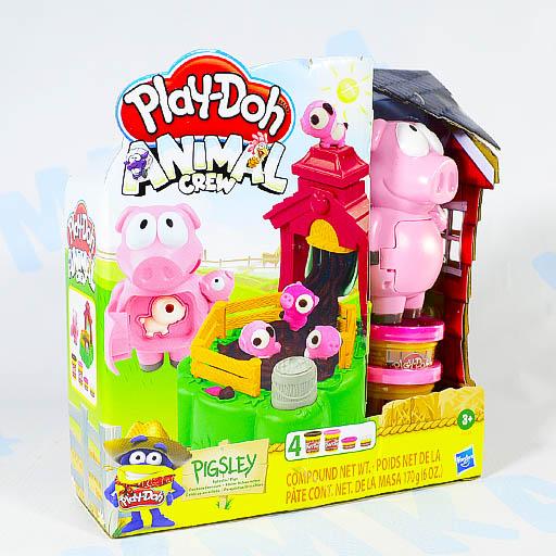 Play-Doh Набор для лепки Озорные поросята