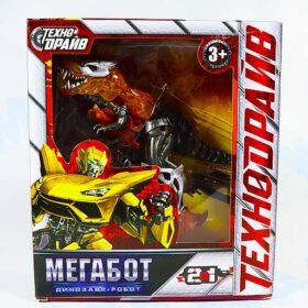 Трансформер 2в1 Мегабот динозавр + робот