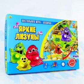"""Настольная игра-ходилка """"Яркие лизуны"""""""