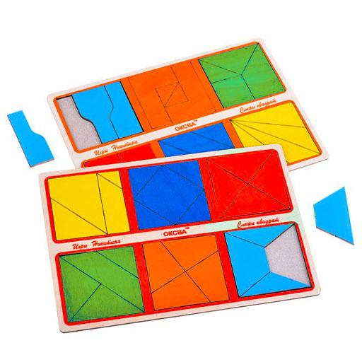 Игры Никитина Сложи квадрат 2 уровень сложности