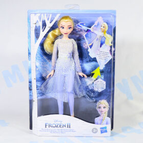 Интерактивная кукла Эльза Disney Холодное сердце 2 Hasbro