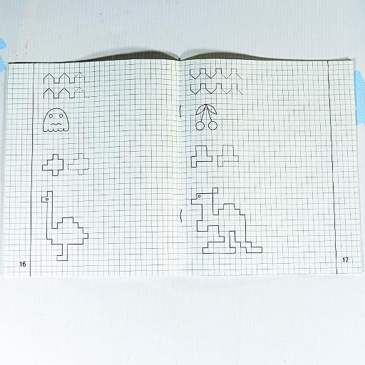 """Тетрадь с заданиями для развития детей """"Рисуем по клеточкам"""" 2 часть"""