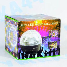 Диско-шар светодиодный LED RGB Magic Ball Light с MP3-плеером и ПДУ