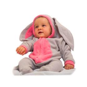 Маскарадный костюм Малышка зайка серенький Бока 75 см