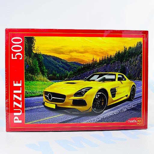 """Пазл """"Спортивное авто"""" 500 элементов, Рыжий кот"""