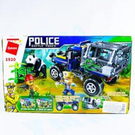 """Конструктор Qman """"Полиция с фигурками"""", 261 деталей"""