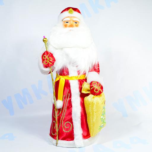 Дед Мороз 43 см Красный