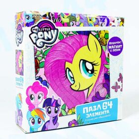 "Пазл ""My Little Pony""+магнит. 64 эл. Арт. 03418"