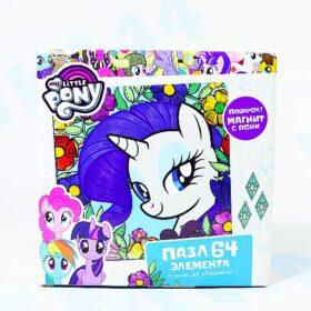 "Пазл ""My Little Pony""+магнит. 64 эл. Арт. 03417"