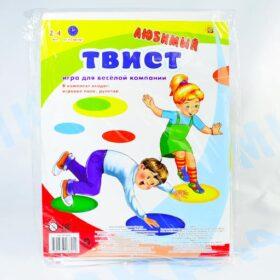 """Игра """"Любимый Твист"""" в пакете Рыжий кот Арт. ИР-8800"""