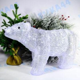 Фигурка световая Белый медведь 60 см