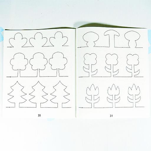 """Развиваем графические навыки малыша"""" 1 часть"""