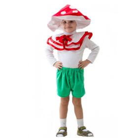 Маскарадный костюм Гриб 122-134 см