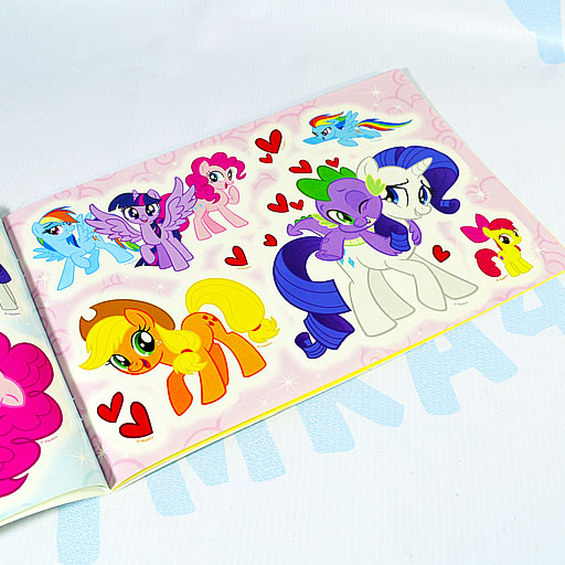 Альбом многоразовых наклеек My Little Pony