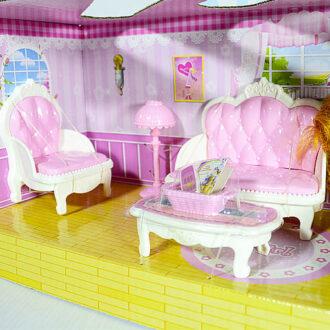 """Набор мебели """"Гостиная с куклой"""" Арт. 1896012"""
