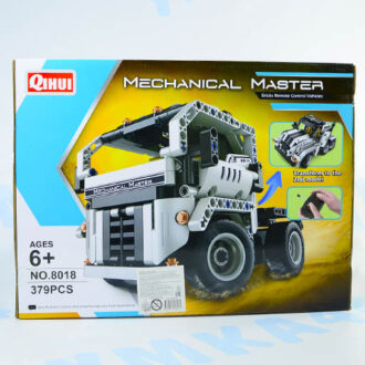 Конструктор QIHUI Mechanical Master 2 в 1, на р/у, 379 дет.