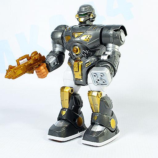 """Робот шагающий """"Кибер Герои"""" свет, звук"""