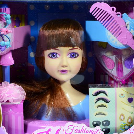 Кукла-манекен для создания причесок Арт. Y19471030