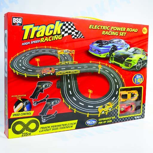 Авто трек со спортивными машинами 235 см