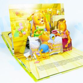 """Книжка - панорамка """"Три медведя"""" Росмэн"""