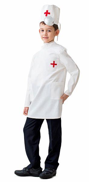 Маскарадный костюм Доктор 122-134 см