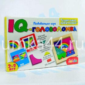 Развивающая игра IQ-головоломка