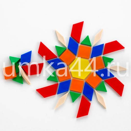 Учебно-игровое пособие Мозаика геометрические фигуры арт. 20020