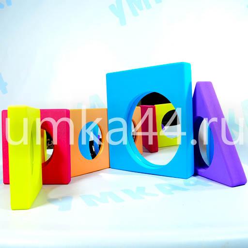 Учебно-игровое пособие Набор зеркал в геометрических фигурах арт.626251